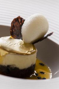Cioccolato,frutto della passione,ginger at Restaurant Arnolfo in Colle di Val d'Elsa