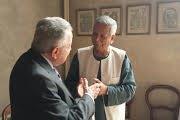 Il Premio Nobel per la Pace professor Yunus