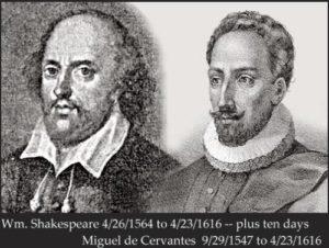shakespearecervantes