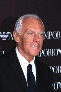 Giorgio Armani, icona dello stile italiano