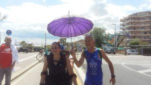 Manuela Migliaccio nella sfida al record mondiale