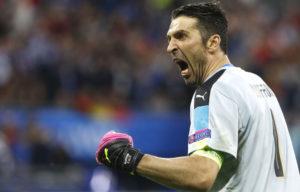 Anche Gigi è parecchio contentuto dopo il gol