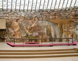 Temppeliaukio Kirkko, la chiesa completamente scavata nella roccia