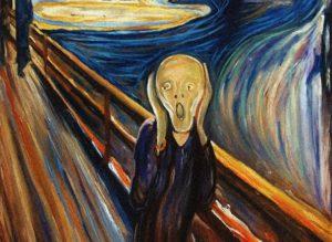 """L'urlo"" del pittore norvegese Edvard Munch"