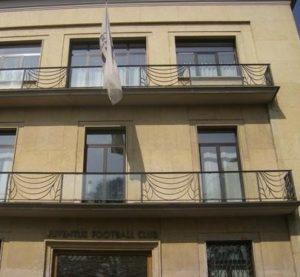 La sede della Juventus in Corso Galileo Ferraris a Torino