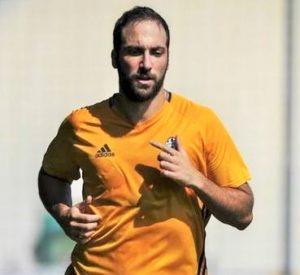 Gonzalo Higuain neo acquisto della Juventus
