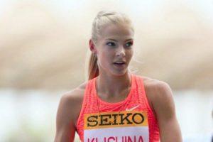 Darya Klisina una delle due atlete russe che sarà presente a Rio
