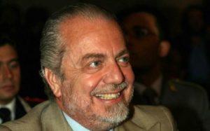 Aurelio De Laurentis, presidente del Napoli