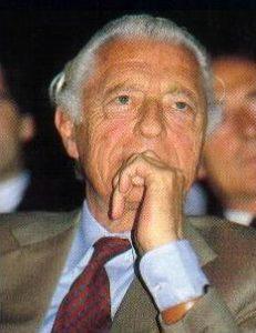 L'avv. Gianni Agnelli simbolo indelebile