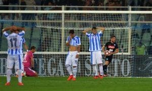 Pescara-Napoli 2-2 Sarri incolpa la Juve