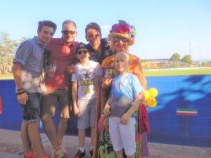 Gigi Buffon con gli amici del Meyer