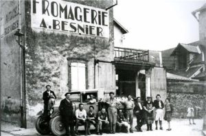 Il primo stabilimento Besnier-Lactalis