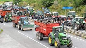 Una delle tante manifestazioni degli allevatori