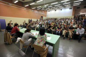 200910-Assemblea ricercatori precari universita'-foto Nucci/Benvenuti