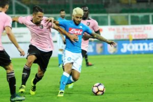 Bella vittoria del Napoli al Renzo Barbera