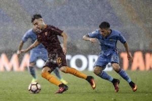 Roma-Samppdoria sotto il diluvio