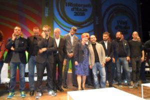 Gli chef premiati nel 2015