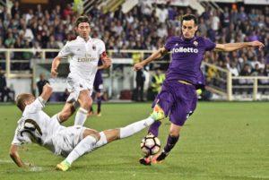 Pareggio in bianco tra Fiorentina e Milan