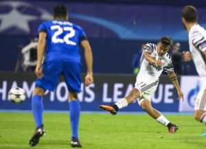 Paulo Dybala, torna al gol contro la Dinamo