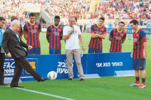 Presidente appassionato di calcio