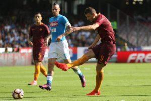 La Roma zittisce il San Paolo e si posiziona al secondo posto dopo l'ottava giornata