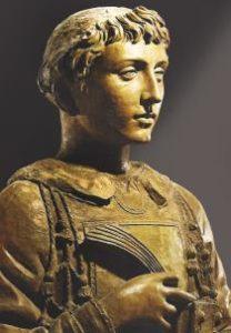 Il busto di San Lorenzo in terracotta opera di Donatello