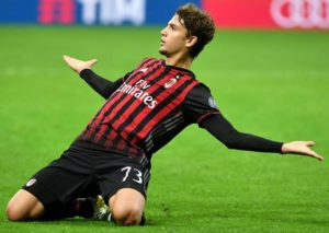 Manuel Locatelli il baby 19enne match-winner in Milan-Juve