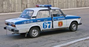 Anche la polizia sovietica viaggiava in Zhigulì