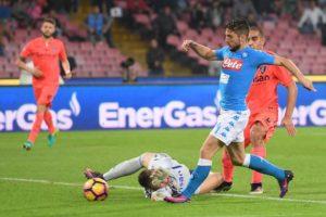 Il Napoli supera l'Empoli in attesa del big match di sabato sera allo Stadium Juventus