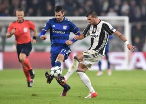 Soccer: Champions League; Juventus-Olympique Lyon