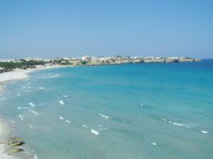 Un tratto di spiaggia salentina
