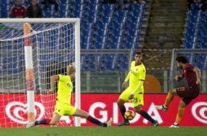Tripletta di Salah e Roma si conferma seconda