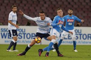 Altro passo falso del Napoli con la Lazio