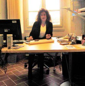 Katia Bach direttrice della Biblioteca Marucelliana di Firenze