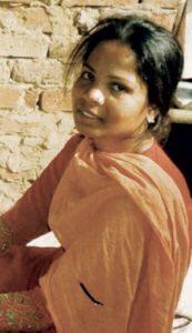 Asia Bibi la giovane pakistana condannata a morte