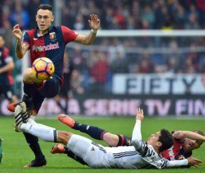 La Juventus cade anche a Marassi