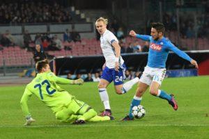 Un Napoli improduttivo contro la Dinamo Kiev