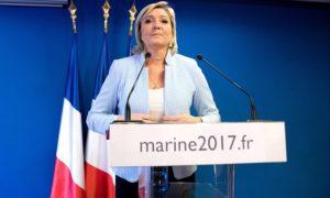 Marine Le Pen con lei la Francia fuori dall'UE