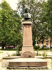 Busto di Chydenius a Kokkola, Finlandia