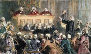 Dipinto del processo contro Zenger