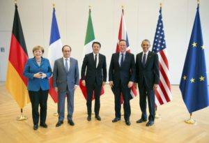 Del vertice G5 di Hannover è rimasta solo Angela Merkel