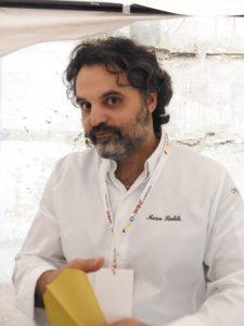 Lo chef stellato Mqarco Stabile