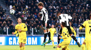 Primo gol in Champions di Daniele Rugani