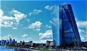 La BCE ed il suo palazzo a Francoforte