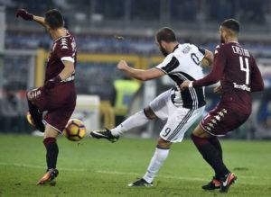 Higuain torna al gol in campionato
