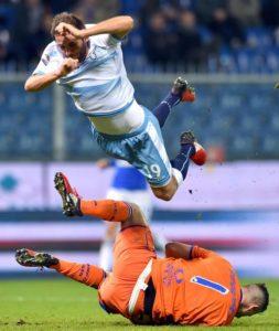 Importante vittoria della Lazio a Marassi con la Sampdopria