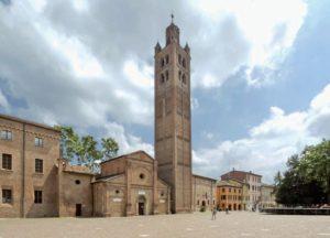 Piazza Re Astolfo a Carpi