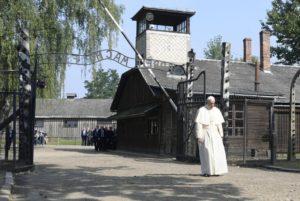 Nel lager di Auschwitz