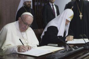 Con il patriarca russo Kirill