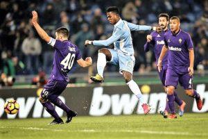 La Lazio supera la Viola e balza al terzo posto